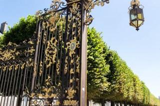 Tor am Place de la Carrière Nancy Lothringen