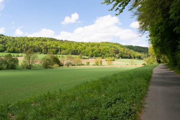 Wandern und Spazierengehen bei Tüchersfeld