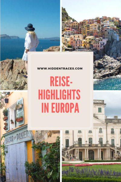 Reise Highlights in Europa