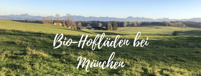 Vegan einkaufen in Bio-SB-Hofläden rund um München