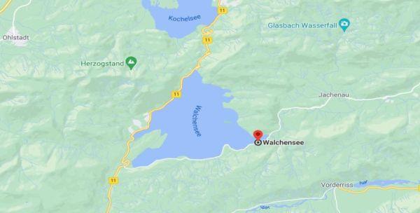 Picknickort am Walchensee