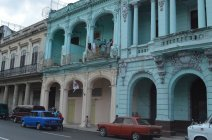 House front in Havanna
