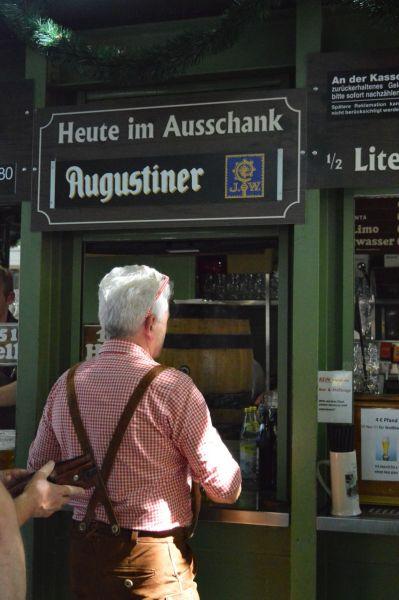 Beer Counter at the Viktualienmarkt