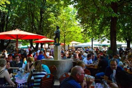 Viktualienmarkt Beergarden