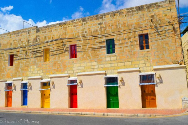 Colorful doors on Malta