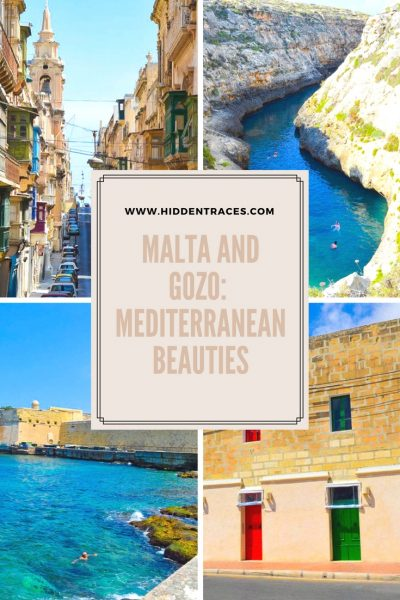 Pinterest Pin Malta and Gozo Englisch