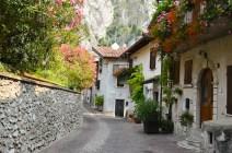 Village scene Limone sul Garda