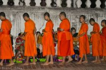 Collecting Alms in Luang Prabang