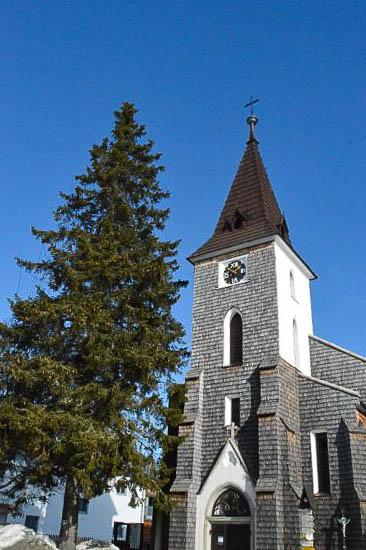 Church of Kvilda