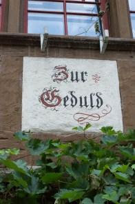 Writing on a wall in Stein am Rhein
