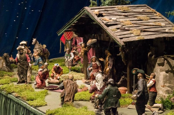 Official nativity scene of the city of Munich