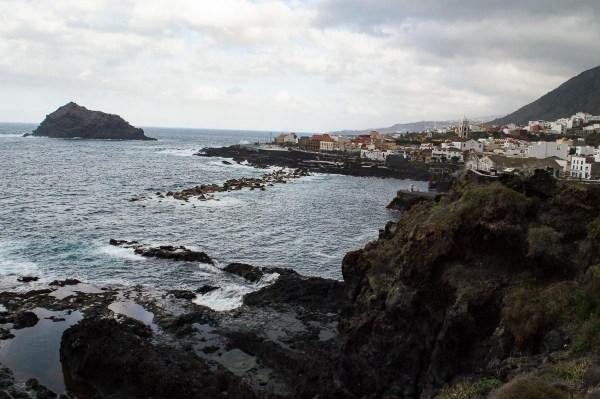 Garachico and the ocean