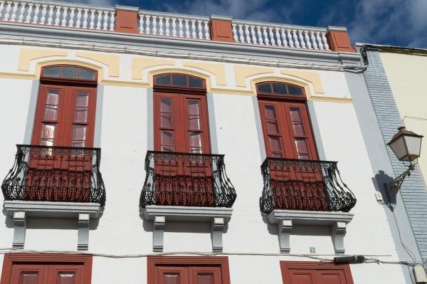 Colonial architecture in San Sebastian