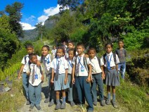 Nepalese students