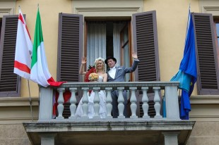 Wedding in Italy: At the town hall