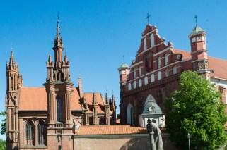 St. Anna's church in Vilnius