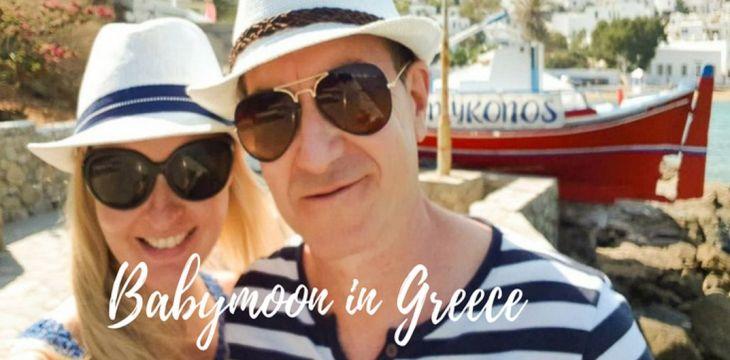 Babymoon:  Cyclades Island Hopping