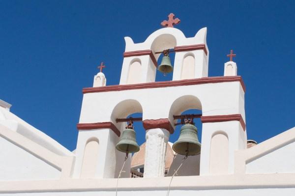 Bell Tower Santorini