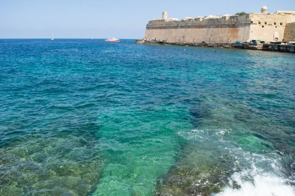 Sea in Valletta