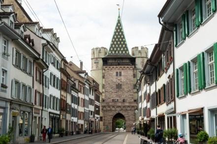 Around Spalentor in Basel