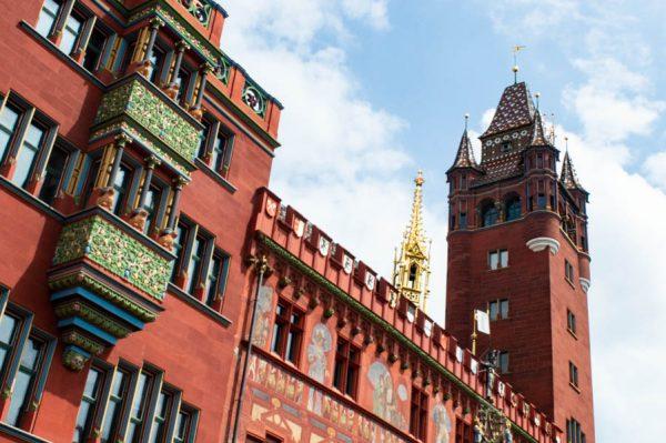 Colorful Basel Town Hall