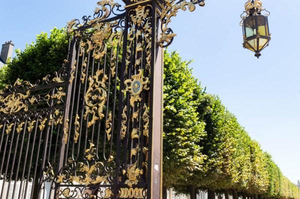 Gate at Place de la Carrière Nancy