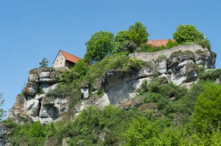 Impressive rocks at Tüchersfeld Franconian Switzerland