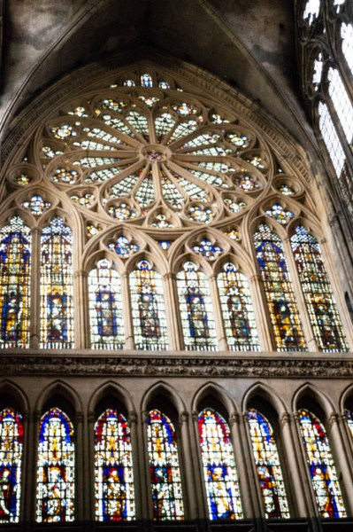 Inside Metz Cathedral