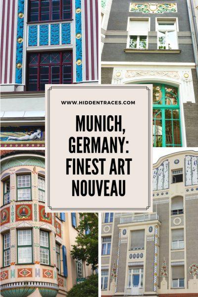 Finest Art Nouveau Munich Germany