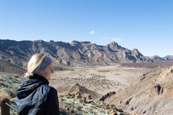 Ricarda at Teide Tenerife