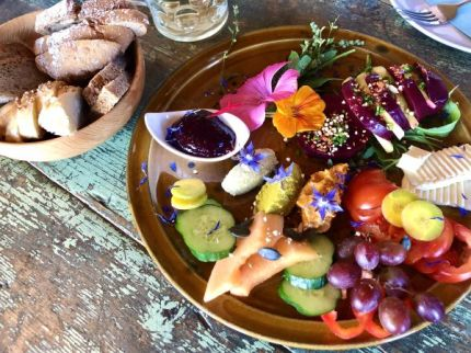 Colorful breakfast at Boarhof