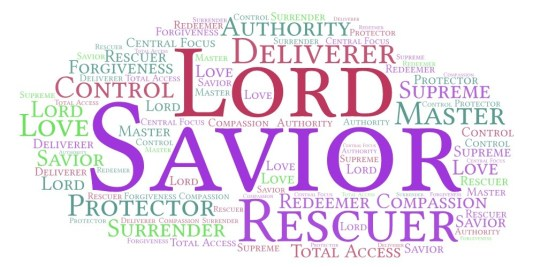 Encountering God by Name: Savior and Lord_1
