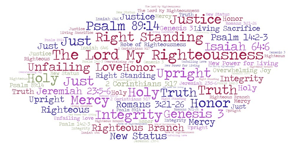 The Lord is my Righteousness