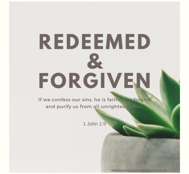 Stories of Hope: Redeemed and Completely Forgiven