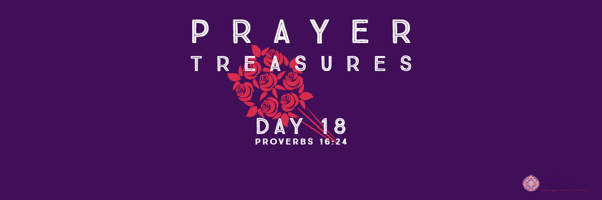 Prayer Treasures Day-18 Wise words