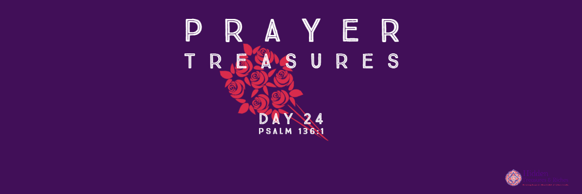 Prayer Treasures DAy 24-Give Thanks