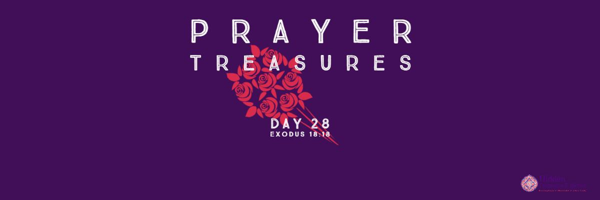 Prayer Treasures Day 28-Teaming up