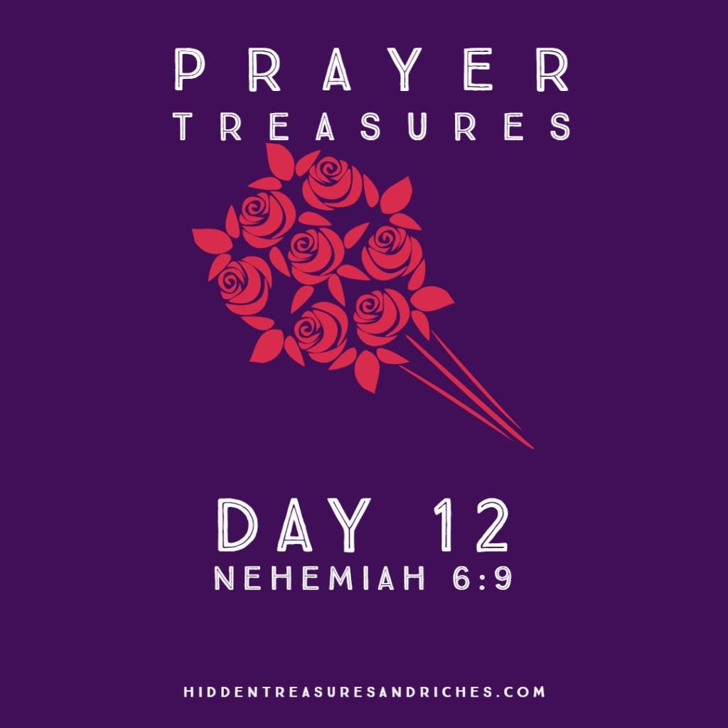 Prayer Treasures- Strength in Prayer