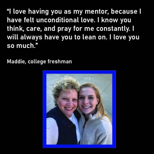 Maddie and Mel- Loving the next generation through mentoring