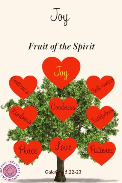 Fruit of the Spirit- Overflowing in joy