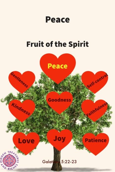 Fruit of the Spirit -Peace