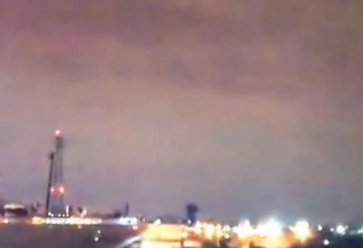 Летяща чиния случайно попадна в новините на американската телевизия Channel 3 NBC