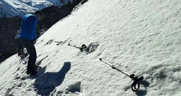 Индийски военни са открили огромни следи от Йети в Хималаите (видео)