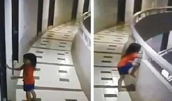 5-годишно момиче-сомнамбул падна от 12-ия етаж и … оцелява без фатални наранявания (видео)