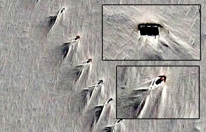 Извънземна или нацистка база е Антарктическата аномалия?