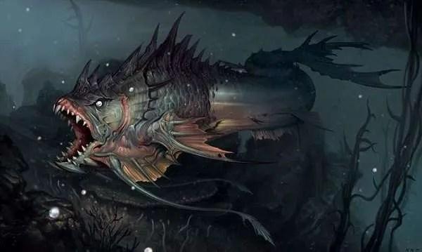 Случаи с необичайни риби, които по-късно са изтрити от историята