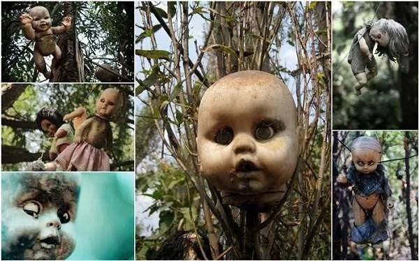 Историята на Острова на куклите в Мексико