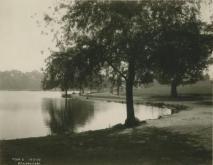 1926 view of Kissena Lake, NYPL collection
