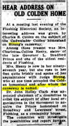 1925 Long Island City Daily Star