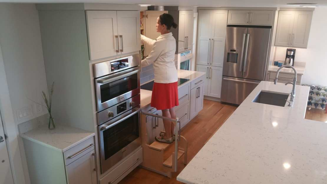 Cabinet Step Stool Hideaway Solutions